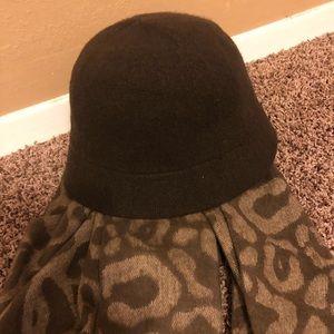 Chocolate brown bucket hat